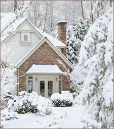 Snowbound House